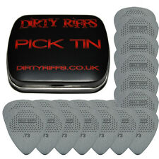 24 x Dunlop Max Grip Standard Guitar Picks / Plectrums - 0.73mm In A Pick Tin