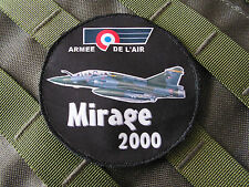 Patch Velcro - ROND MIRAGE 2000 - Armée de L'air - BA133 vol PILOTE pétaf CREW