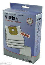 4 SAC ASPIRATEUR NILFISK 1470416500 POWER P10 P20 P30 P40 PW10 PW20 107407639