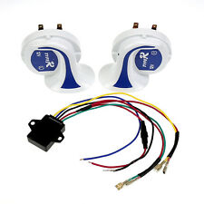 Car Van Truck Electric12V Loud Air Snail Horn Digital magic 8 Sounds Snail Horn