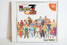 Street Fighter ZERO 3 Alpha W/ Spine Reg Card SEGA Dreamcast DC Japan Import