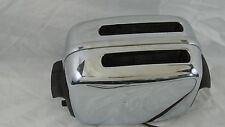 VINTAGE CHROME TOASTMASTER AUTOMATIC POP UP 2 SLICE TOASTER - 1B14  WORKING