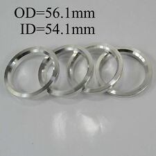 Wheel Hub Variable Centric Hole Rings Spacer OD=56.1mm ID=54.1mm Aluminium Alloy