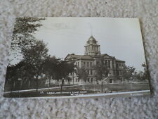 Real photo postcard Langlade County Courthouse, Antigo, Wis. Wisconsin WI