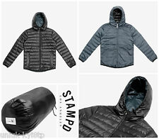 MENS PUMA x STAMPD DOWN BOMBER JACKET COAT PARKA HOODY PADDED PUFFER BLACK $395