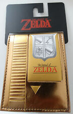 The Legend of Zelda Cartridge Nintendo Nes Video Game Bifold Wallet Nwt
