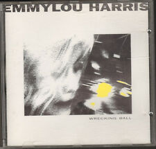 EMMYLOU HARRIS Wrecking Ball  CD 12 track  1995 LYRICS Producer Daniel Lanois