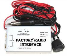Wired FM Modulator Factory Radio Stereo Antenna Standard Reverse Audio Input Aux