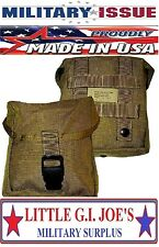 NEW Military Issue Coyote USMC IFAK Individual First Aid Kit MOLLE Pouch BLK BK
