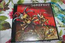 "NEW Gorefest 12"" Double 2 LP RED Vinyl Rise To Ruin Limited Edition Metal"