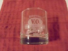 1990 SEAGRAM'S V.O. GOLDEN QUARTERBACK CHALLENGE DRINKING GLASS