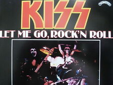 "KISS 45 RPM 7"" - Let Me Go, Rock 'N' Roll UNPLAYED W/COLLECTOR'S SLEEVE"