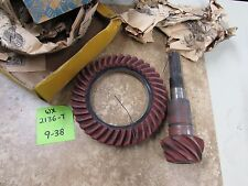 NOS 1937-39 Chevrolet Ring and Pinion Set #WX2136-7
