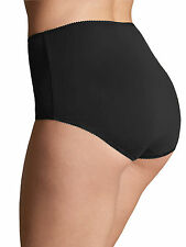 M & S Size 12 Cotton Rich Full Briefs Knickers Panties Stretchy Black