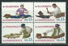 USA - MNH Block of 4  Stamps - 13c Skilled Hands...........US - #7114