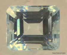 Aquamarine Beryl Faceted Gemstone Aquamarin  Edelstein Aquamarina 5.99 ct