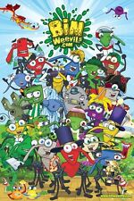 BIN WEEVILS POSTER ~ CAST 24x36 Video Game Binweevils Online Virtual World
