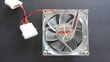 "RAIDMAX Desktop Cooling Clear Fan 3"" x  3"" with Screws (Tested)"