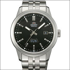 Orient Black Ranger Automatic Watch with Sapphire Crystal, SS Bracelet #EM7N001B