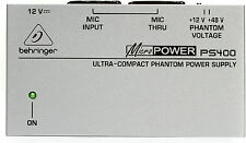 New Behringer Phantom Power Supply PS400 Buy it Now! Make Offer Auth Dealer!