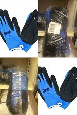 Wholesale pack of 12 pairs Blue Nitrile Palm gloves by Diesel