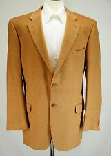 Ermenegildo Zegna Cashmere Silk Wool Light Brown Blazer Sport Coat 58EU 48L