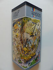 Loup - Yellow Power jigsaw puzzle 1000 pcs, 1974  (Heye, 1990-8718)