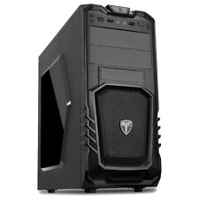 AVP Storm 27 Nero Anteriore USB 3.0 ATX Gaming TOWER CASE Inc chiare finestra laterale