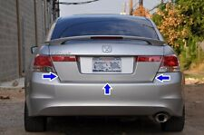 Honda Accord 08 09 10 Inspire trunk license plate panel with lights