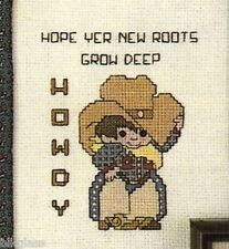 Special Days 30 Special People Cross Stitch Cowboy Welcome Father Sister