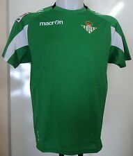 REAL BETIS 2012/13 AWAY SHIRT BY MACRON ADULTS SIZE EU MEDIUM BRAND NEW