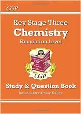 KS3 Chemistry Study & Question Book (with Online Edition) - Foundation New Paper