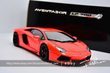 AUTOart 1:18 lamborghini LP700-4 Aventador orange