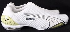 Puma 1208 Ducati NEW White Athletic Running Fashion Sneakers Men's US 11.5