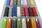 24Pcs Colors Spool Polyester Finest Quality Sewing Machine Thread Cord String