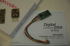 Lenz 10231-02 Decodificador digital Estándar+ V2 con 8 Pin Enchufe para DCC