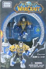 Mega Bloks 91001 World of Warcarft  Colton Human Paladin NEW