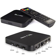 TX3 PRO Android 6.0 4K Smart TV Box,Media Player,Mini PC,Quad Core 1GB / 8GB