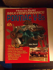 How to Build Max Performance Pontiac V-8s, Jim Hand NEW nvr opened, out of print