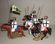 TEUTONIC LANCER KNIGHTS variant set ARGENTINA DSG Mounted Toy Soldiers Britains