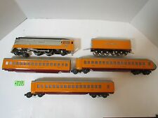 Lionel Hiawatha 350E Steam Engine, Tender and 3  Passenger Cars882,883,884 MIL R