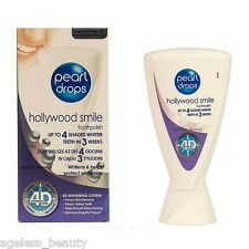 PearlDrops TOOTHPOLISH HOLLYWOOD SMILE 4D WHITENING SYSTEM 4 SHADES WHITENS