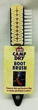 NEW Kiwi CAMP DRY Shoe BOOT BRUSH Multifunction Cleaning Suede Leather Nubuck