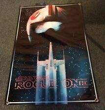 STAR WARS POSTER FIGURE MOVIE X WING FIGHTER HELMET ROGUE ONE VIDEO GAME BANNER