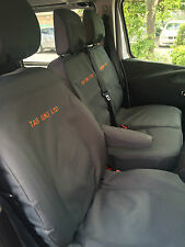 Vauxhall Vivaro 2014 on Sportive Crew Van.Tailored Seat Covers.+ Free Embroidery
