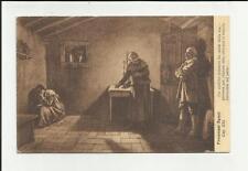 antica cartolina formato piccolo lecco i promessi sposi capitolo XXI