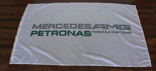 New White Mercedes Petronas AMG Racing Flag Formula One Team F1 Sign Banner
