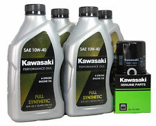 2012 Kawsaki NINJA 1000 ABS Full Synthetic Oil Change Kit