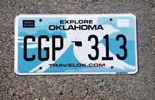 REAL OKLAHOMA STATE BIRD LICENSE PLATE NEW GRAPHIC AUTO NUMBER CAR TAG LQQK OK 1