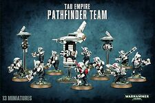 Games Workshop w40k Tau Empire Pathfinder team